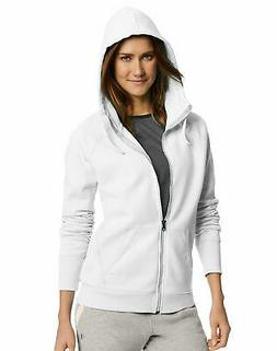 Champion Hoodie Women's Sweatshirt Powerblend Full Zip Scuba