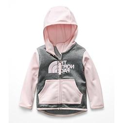 The North Face Infant Surgent Full Zip Hoodie - Purdy Pink -