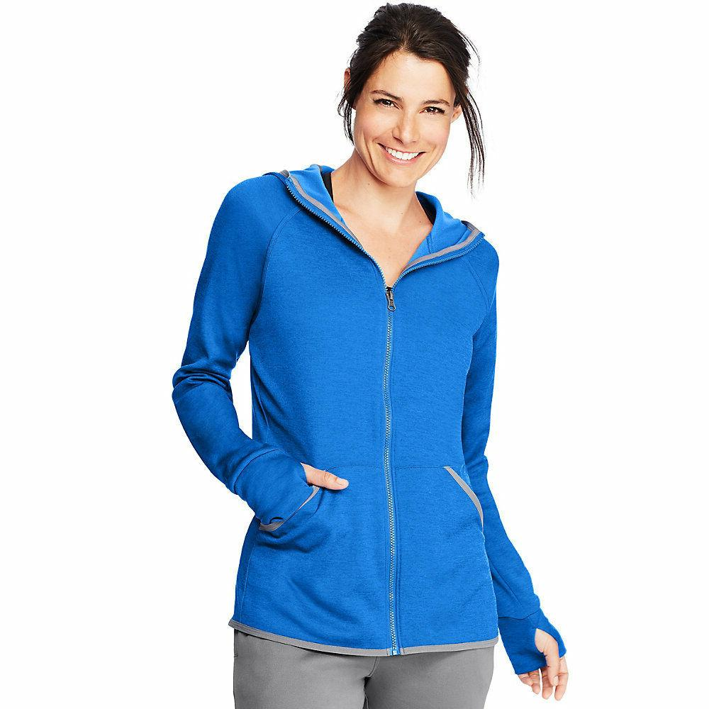 Hanes Sport™ Women's Performance Fleece Zip Up Hoodie O