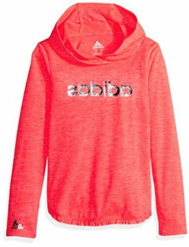 adidas® Girls' 2T-6X Clima Pullover Hoodie