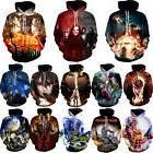 Agegao Anime Graphic 3D Print Men Women Pullover Hoodie Swea