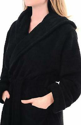 Alexander Turkish Terry Robe, Long Hooded