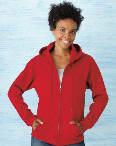 Gildan Heavy Blend Missy Fit Full-Zip Hooded Sweatshirt -186