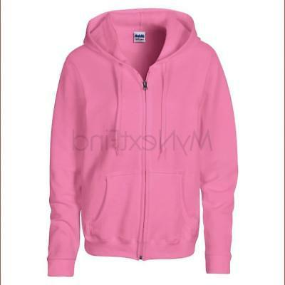 Gildan Womens Heavy Blend Full Zip Hoodie
