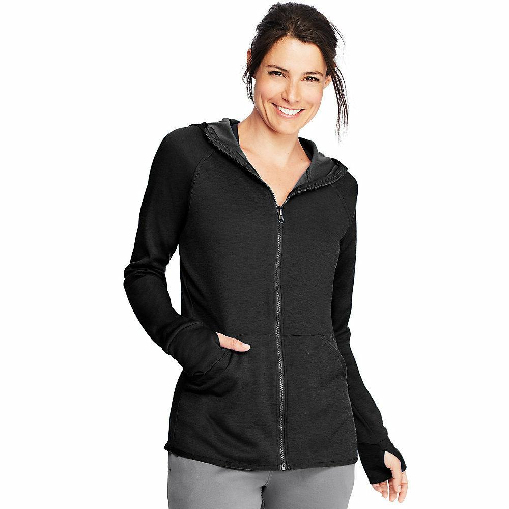 Hanes Sport™ Women's Performance Fleece Zip Up Hoodie O487