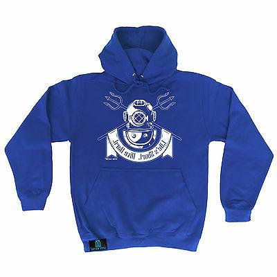 Life's Short Dive Hard Open Water HOODIE hoody birthday funn