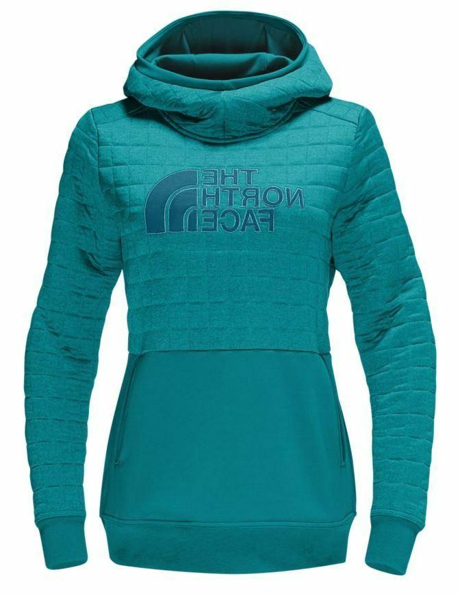 The North Face Women's Half Dome Quilted Pullover Hoodie in