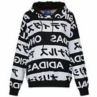 adidas ORIGINALS SIZE UK 6-10 TYPO HOODIE WOMEN'S LADIES GIR