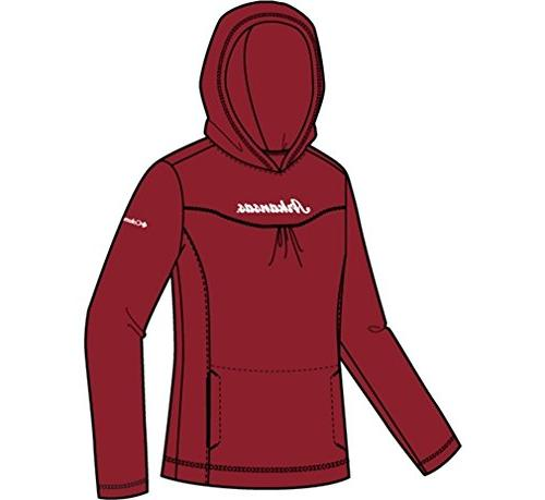 arkansas collegiate glacialtm fleece hoodie