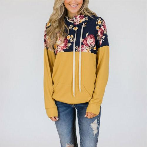 Women Hoodies Hooded Tops Outwear