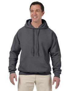 Gildan Adult Gildan DryBlendHooded Sweatshirt - Charcoal - L