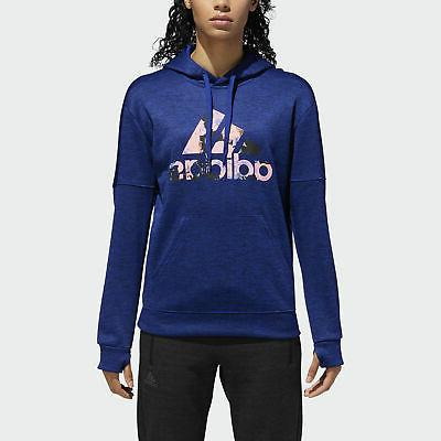 floral badge of sport hoodie women s