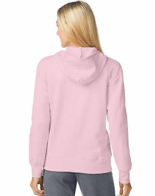 Hanes Sweatshirt Womens Pockets Soft Ribbed