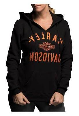 Harley-Davidson Women's Virtually Unstoppable Split Neck Pul