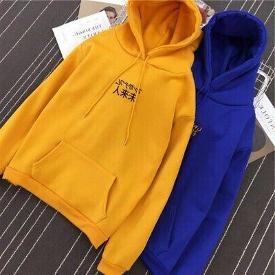 Women/Men Hoodie Hip-hop Street Skateboard Thrasher Pullover