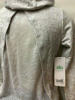 IRR $165 Yoga Women's JACKET Mesh XS