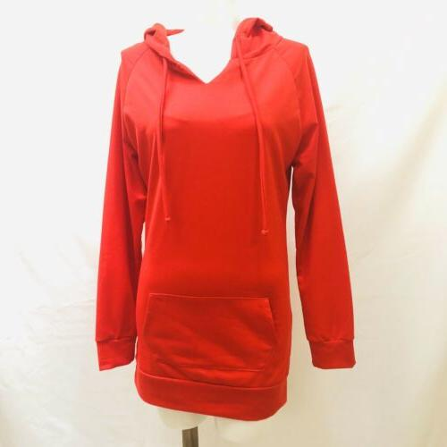 j tomson pullover hoodie red size small