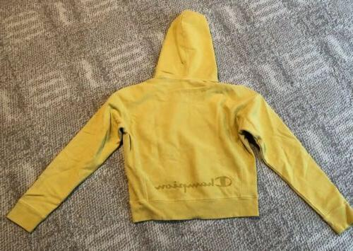 CHAMPION REVERSE WEAVE GARMENT DYED MED-YELLOW - NEW