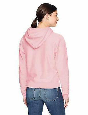 Champion LIFE Women's Weave Hoodie, Pink Candy,
