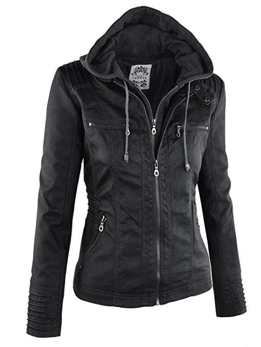Made Womens Leather Jacket with