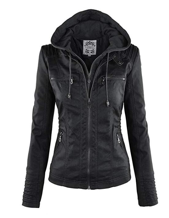 made by johnny mbj womens faux leather
