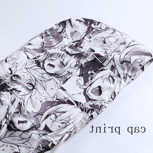 Men Anime Ahegao Funny Pullover Cool Jacket New