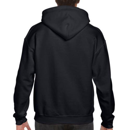 US Men Hoodie Pullover Plain Design Jumper