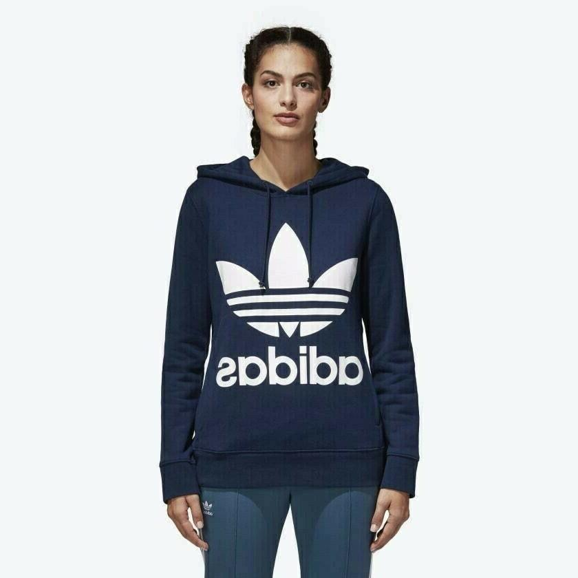 New adidas Trefoil Hoodie Various Sizes