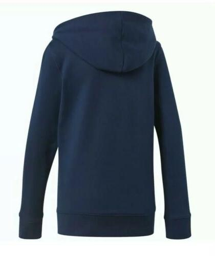NEW TREFOIL HOODIE SMALL CE2410 NAVY