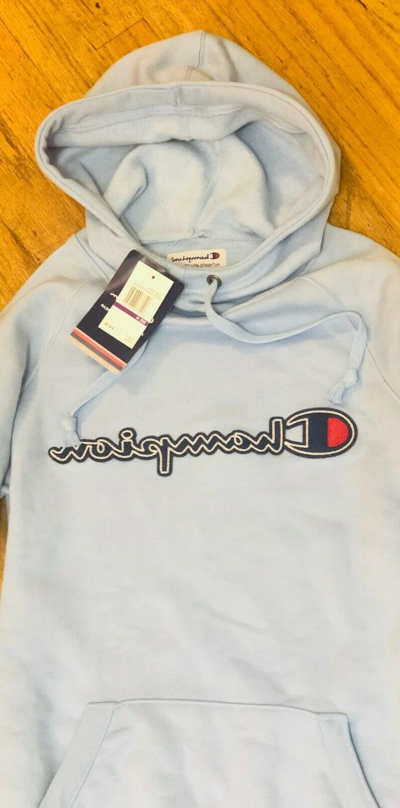 new womens hoodie sweatshirt blue m