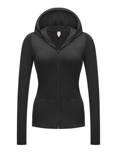 Regna X NO Bother Women's Full Zip Up Jersey Spandex Workout