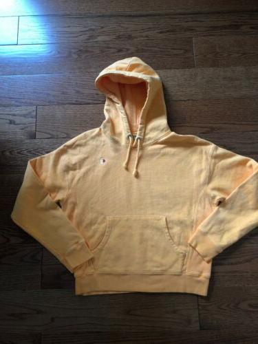 nwot reverse weave hoodie women s medium