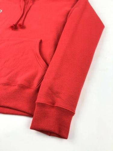 NWOT Hoodie Women's XS Sweatshirt Red Double
