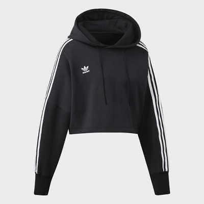 adidas Cropped Hoodie Women's