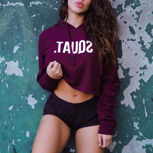 Sexy Sweatshirt Jumper Sweater Crop Coat