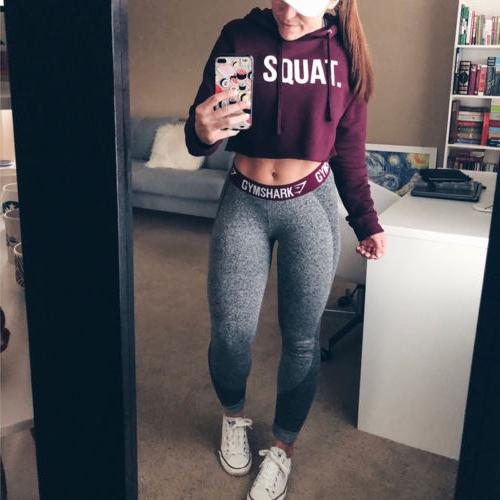 Sexy Women Hoodie Jumper Sweater top Coat Sports Tops
