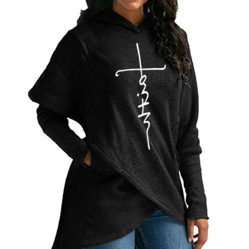 US Ladies Sweatshirt Sleeve Pullover