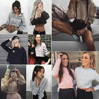 Women Hoodie Sweater Coat Sports