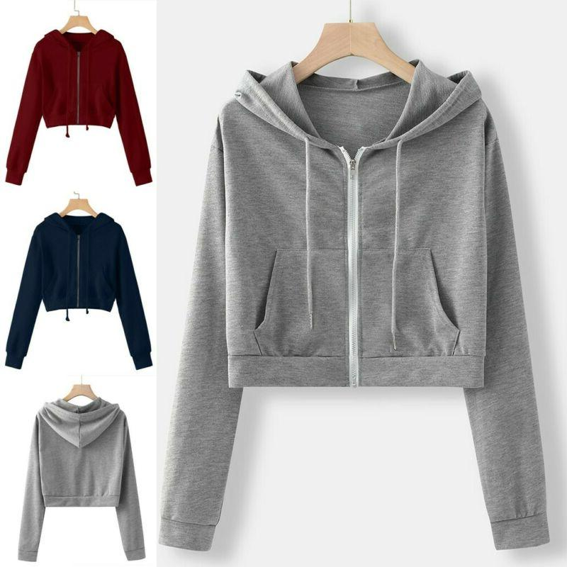 Women Hoodie Sweatshirt Jumper Hooded