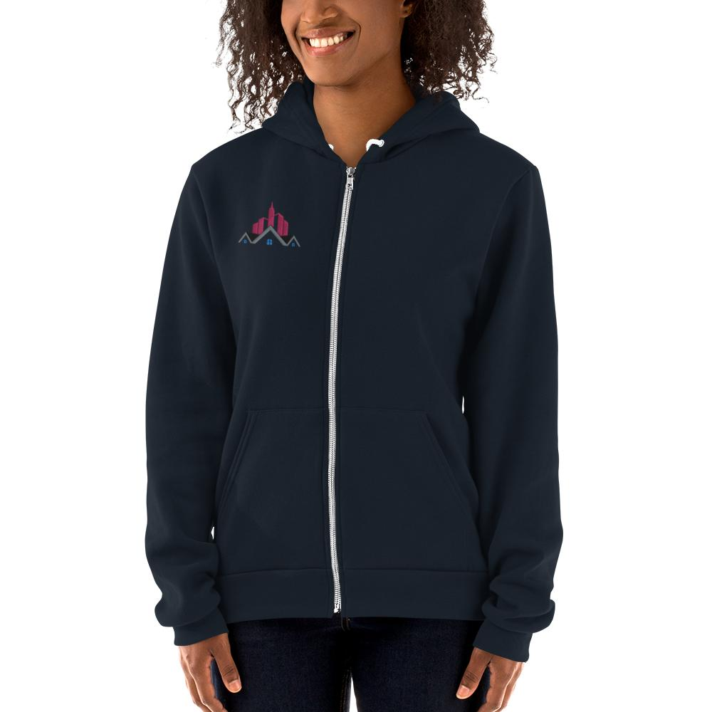REAL APPAREL NAVY WITH UP