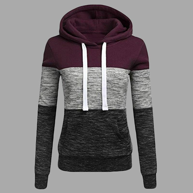 Women Long Sleeve Sweatshirt Jumper