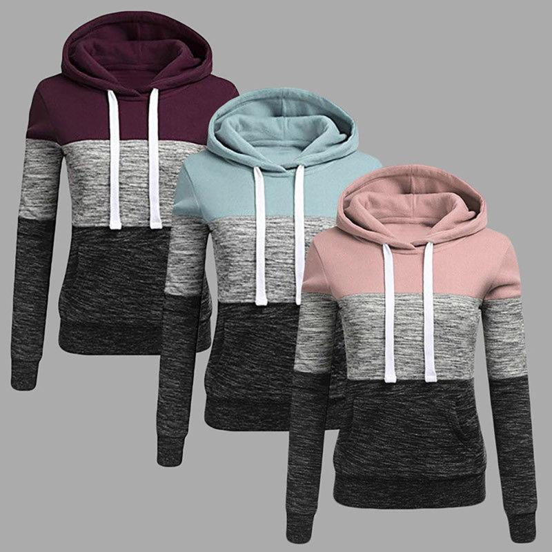 Women Hooded Sleeve Jumper