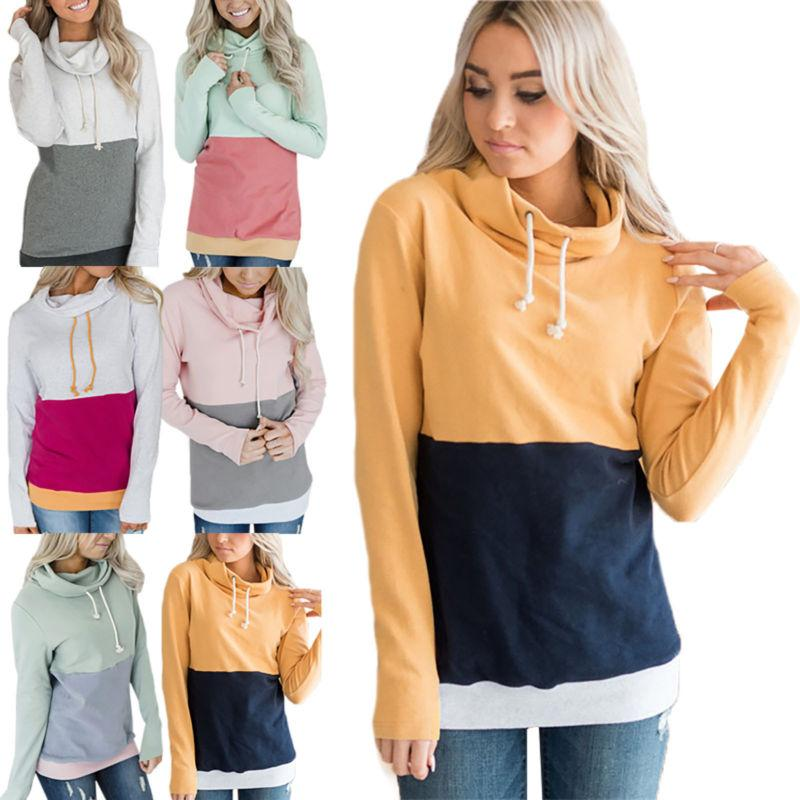 Women Hooded Sleeve Sweatshirt
