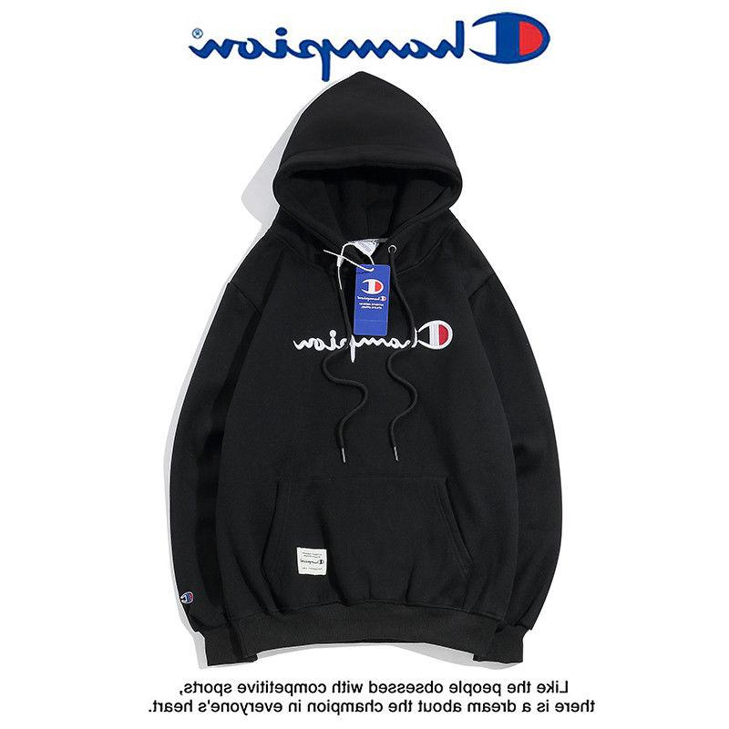 Women's Men's Classic Champion Hoodies Embroidered Hooded Sw