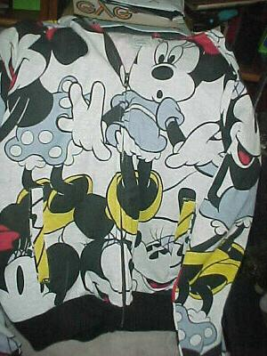 Women's Mouse Hoodie--Size Large-Hood w/tags
