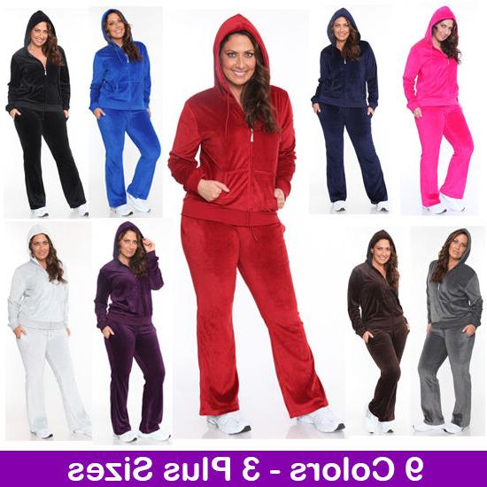 women s plus size athletic velour zip