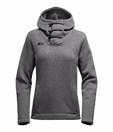 women s s crescent hooded pullover tnf