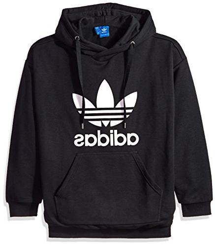 NEW ADIDAS ORIGINALS WOMEN'S TREFOIL HOODIE  ~SIZE MEDIUM  #