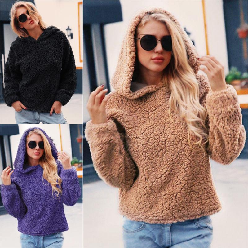 Plus Teddy Knitted Sweater Jacket Outwear Top