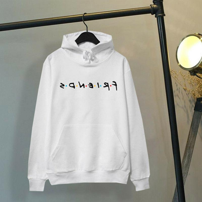 Womens Print Hoodie Hoody Sweatshirt Ladies Sweater Jumper